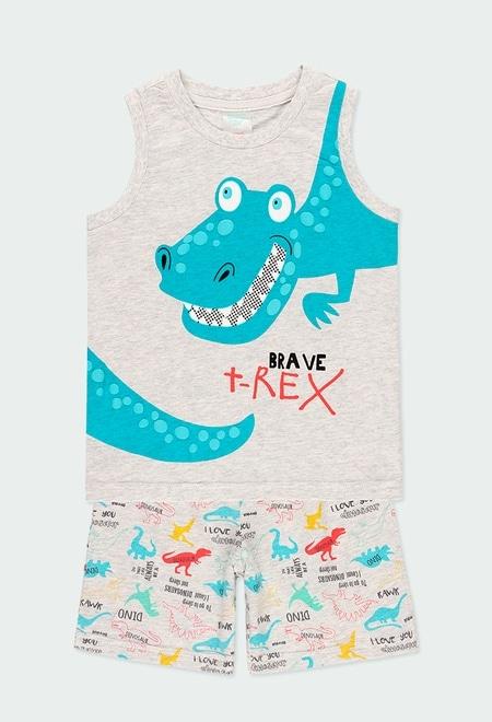 Pijama punto dinosaurios de niño_1