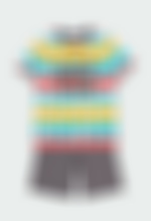 Knit pyjamas short sleeves for boy