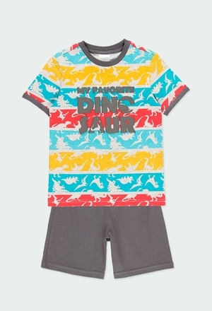 Knit pyjamas short sleeves for boy_1
