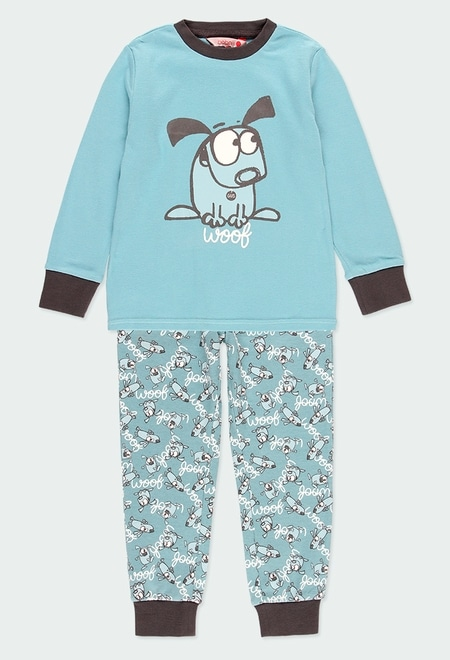 "Pijama interlock ""perrito"" de niño_1"