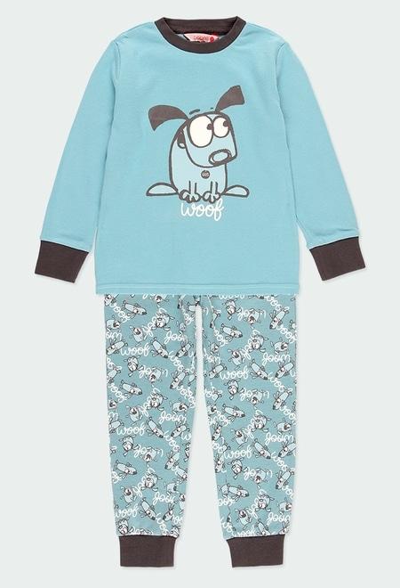 "Interlock pyjamas ""puppy"" for boy_1"