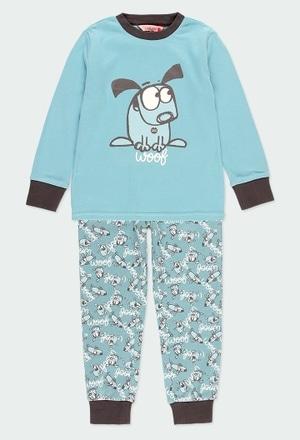 """Pijama interlock """"cachorro"""" para menino_1"""