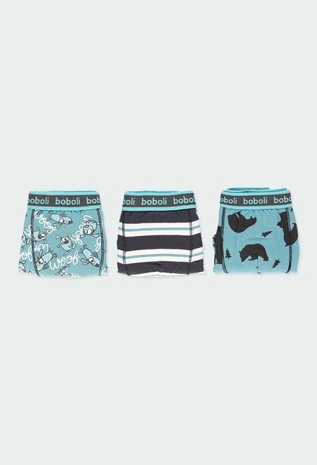 Pack de 3 boxers maille pour garçon_1