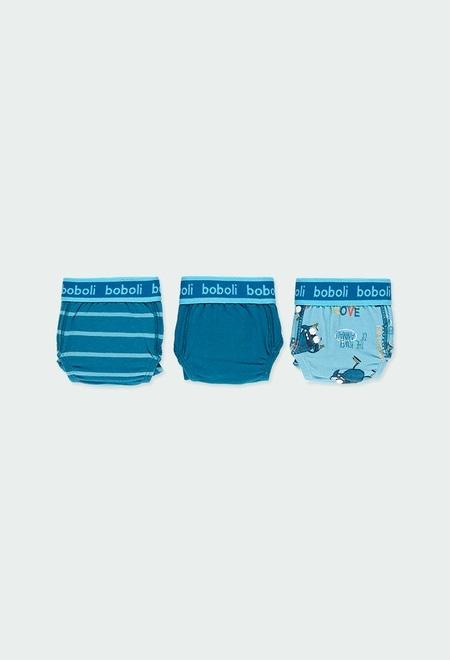 Pack de 3 slips pour garçon_1