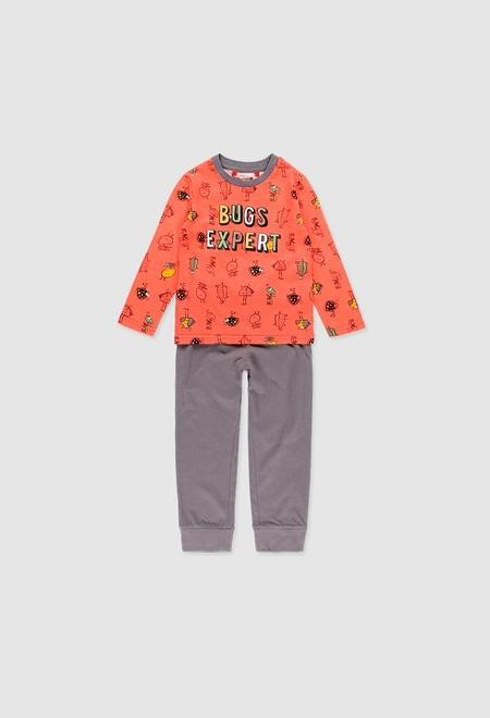 Knit pyjamas for boy_1