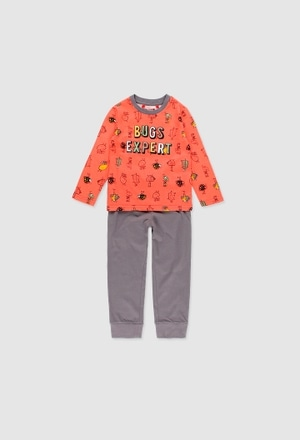 Schlafanzug gestrickt für junge_1