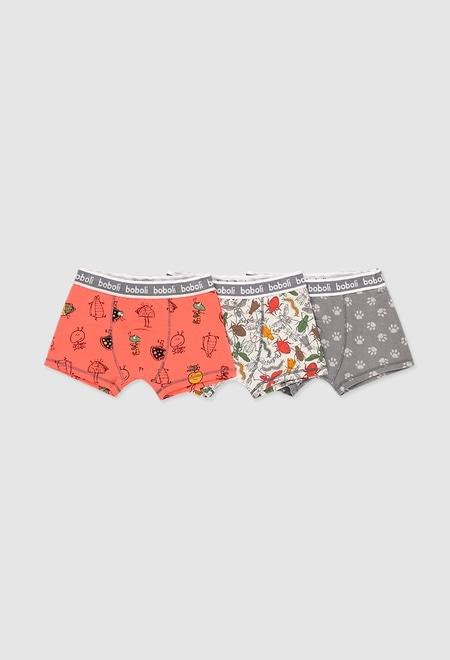 Pack de 3 boxers pour garçon_1