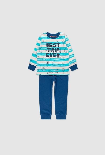 Pijama punto de niño_1