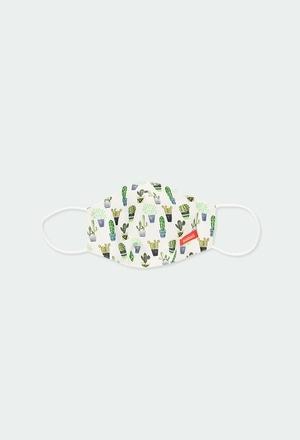 Mascarilla higiénica reutilizable – Hidrofugada Antibacteriana_1