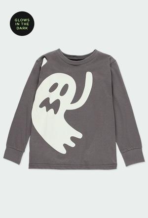"""Camiseta punto """"fantasma"""" de niño_1"""