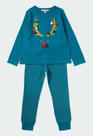 Pijama malha para menina_1