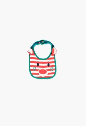 Interlock bib for baby_1