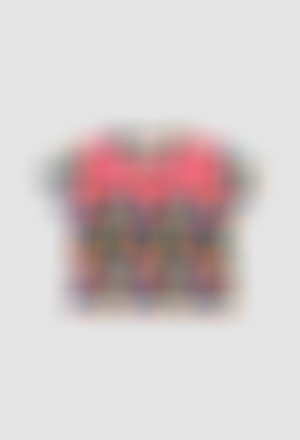 T-Shirt gestrickt elastisch für mädchen
