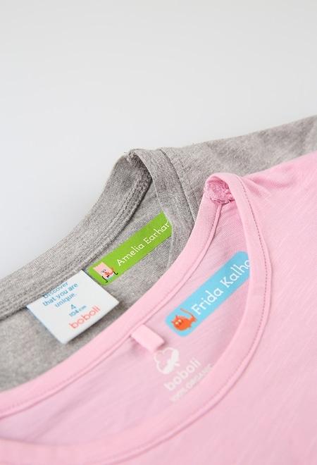 Pack 48 etiquetas pequeñas para ropa Stikets_1